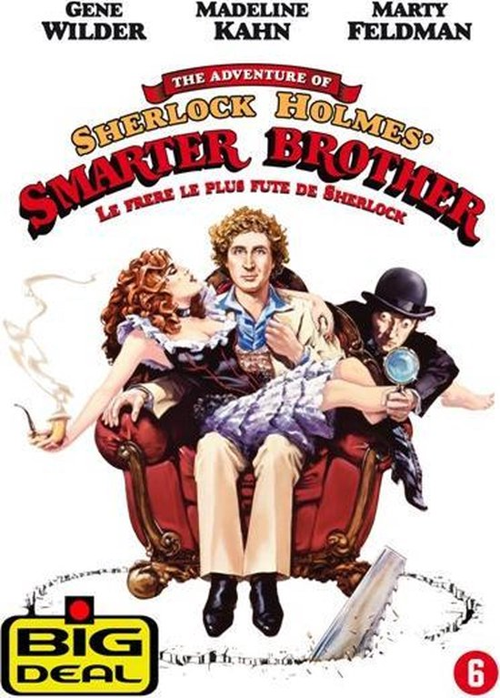 Cover van de film 'Adventures Of Sherlock Holmes - Smarter Brother'