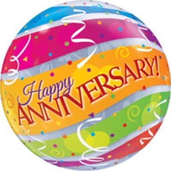 Bubble Happy Anniversary (excl. helium)