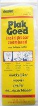 Zoomband vlieseline 20mm breed, lengte 5m ( GEEL)