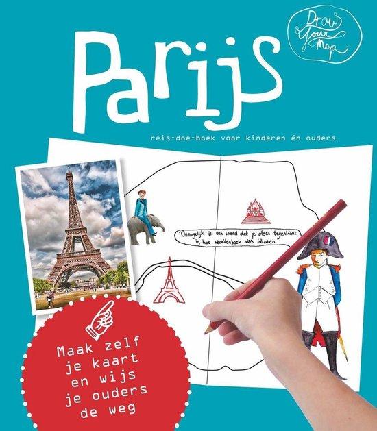 DrawYourMap - Parijs - Lisa van Gaalen |