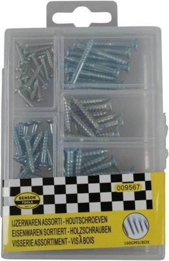Benson Houtschroeven - Assortiment Box