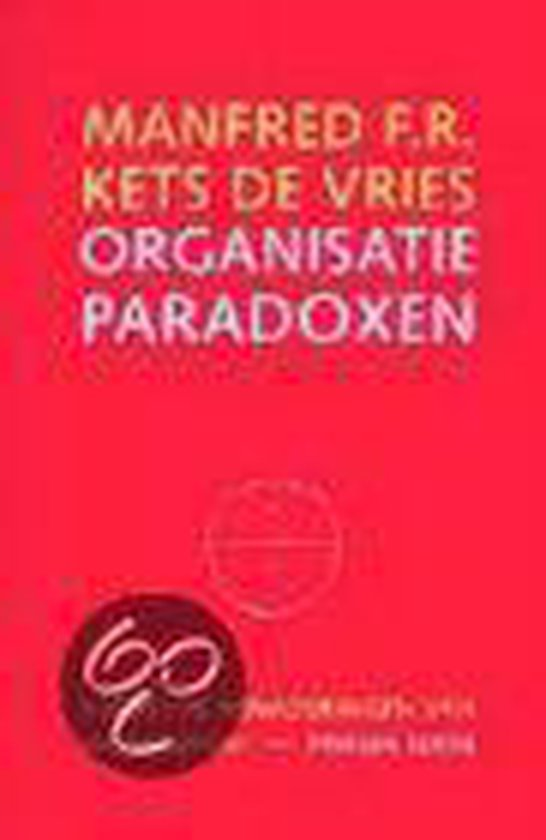 ORGANISATIEPARADOXEN, 2E - De Vries Manfred pdf epub
