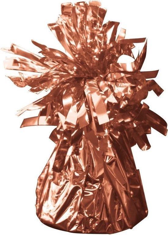 2x Ballon gewicht rose goud 170gr