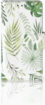 Samsung Galaxy A3 2015 Bookcase Hoesje Leaves