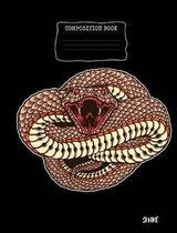 Snake Composition Book