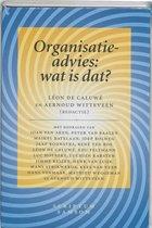Boek cover Organisatieadvies: wat is dat? van A. Witteveen