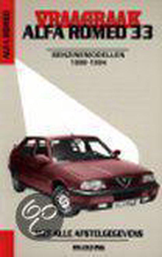 VRAAGBAAK ALFA ROMEO 33 BENZINEMOD 1990-1994 - Olving |