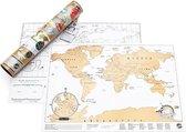 Kras Wereldkaart - Scratch Map Travel - Reiseditie
