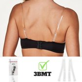 3 BMT Transparante BH bandjes BH accessoire