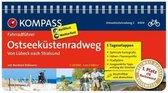 RF6004 Ostseeküstenradweg 2, von Lübeck nach Usedom Kompass