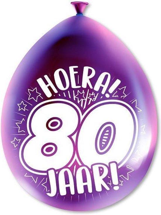 Paperdreams cijferballonnen - 80 jaar