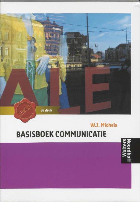 Basisboek Communicatie - Wil Michels |