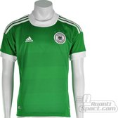 adidas - DFB Away Jersey Youth - Groen/Wit - Maat 140