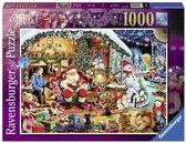 Ravensburger puzzel Let's visit Santa - Legpuzzel - 1000 stukjes