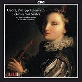 Telemann: 3 Orchestral Suites