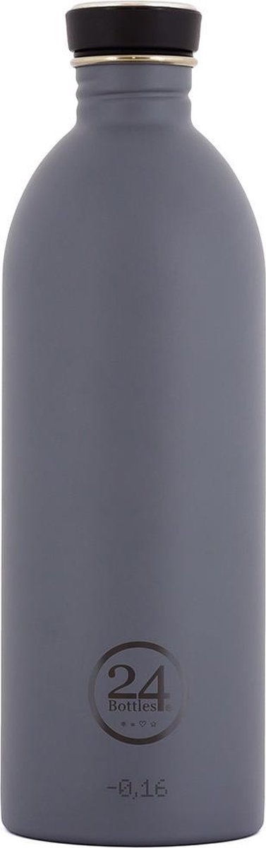 24Bottles Drinkfles Urban Bottle Formal Grey 1 liter - 24 Bottles