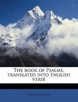 The Book of Psalms, Translated Into English Verse