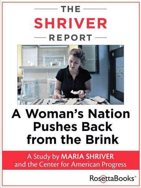 Boek cover The Shriver Report van Maria Shriver (Onbekend)