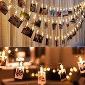 LED lichtslinger voor foto's of kerstkaarten - 2 m
