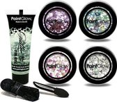 Chunky Cosmetics Glitters Make Up set Multicolour Paintglow