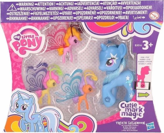 Plastic My Little Pony Trixie 8 cm - My Little Pony