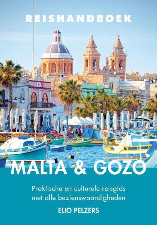 Reishandboek - Malta en Gozo - Elio Pelzers  