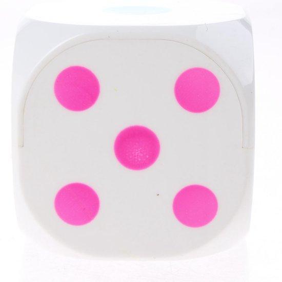 Afbeelding van het spel Toi-toys Dobbelsteen Met Licht 6 Cm Wit