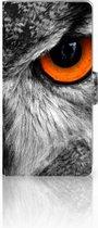 Huawei Ascend P8 Lite Uniek Ontworpen Hoesje Uil