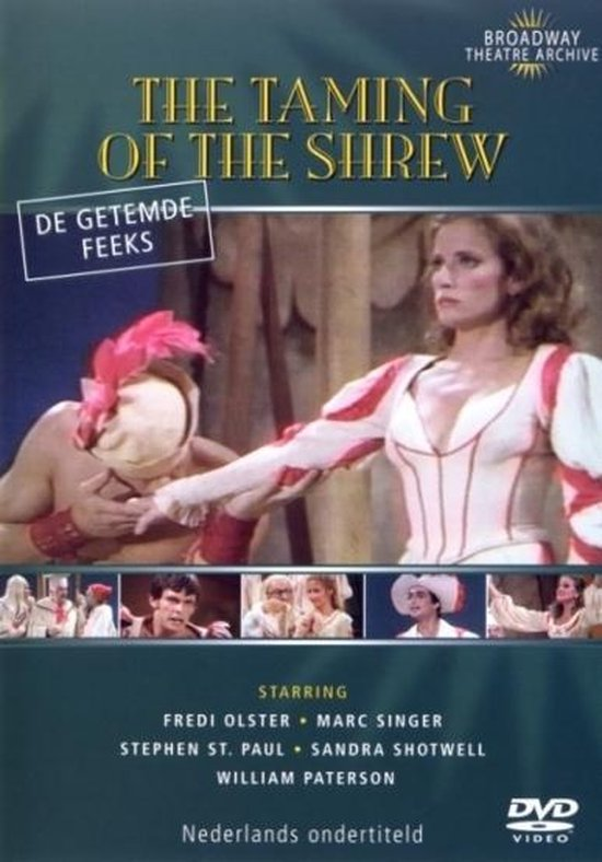 Cover van de film 'Taming Of The Shrew'