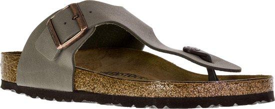 Birkenstock Ramses - Slippers - Stone - Regular - Maat 47