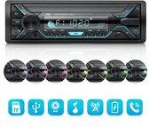 Autoradio   Alle auto's   BLUETOOTH  USB SD AUX   Stuurbediening   Enkel din  Auto Radio  
