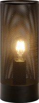 Lucide BELI - Tafellamp - Ø 12 cm - 1xE27 - Zwart
