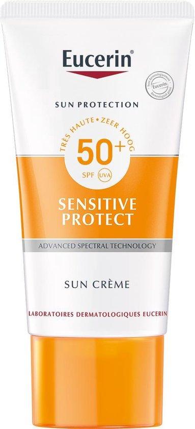 Eucerin Sun Sensitive Protect Crème SPF50+ Zonnebrand - 50 ml
