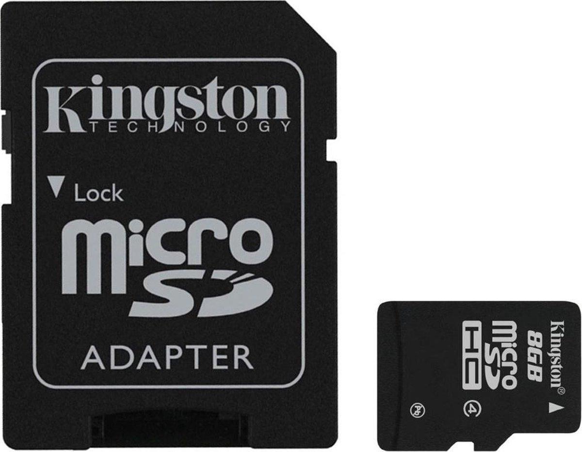 Kingston MicroSDHC 8GB  - Class 4
