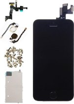 Voor Apple iPhone 5S - A+ Voorgemonteerd LCD scherm Zwart