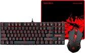 Redragon K552-BA 3 in 1 Pro Gaming set ( Mechanical compact gaming keyboard + M601 Gaming Muis + ARCHELON Gaming Mouse Pad)