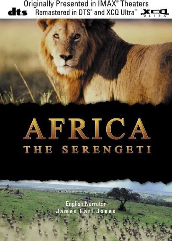 Cover van de film 'Africa - The Serengeti'