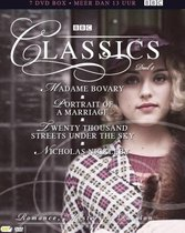 BBC Classics box 4 - Madame Bovary, Portrait Of A Marriage, Twenty Thousand Streets Under The Sky En Nicholas Nickleby