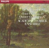 Mendelssohn: Octet, Quintet / ASMF Chamber Ensemble