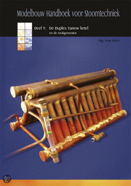 Modelbouw Handboek voor Stoomtechniek - Deel Y - De Duplex Yarrow ketel - Ing. T. Visser   Fthsonline.com