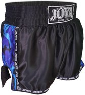 Joya Kickboks  Sportbroek - Maat M  - Unisex - zwart/blauw/wit