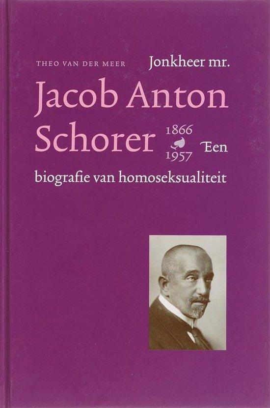 Jhr. mr. Jacob Anton schorer
