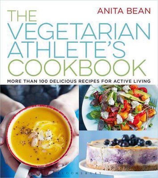 Boek cover The Vegetarian Athletes Cookbook van Ms Anita Bean (Paperback)