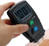 Digitale Vochtmeter Voor Hout / Haardhout - 4 Pins Houtvochtmeter / Vochtigheidsmeter