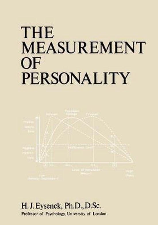 Boek cover The Measurement of Personality van  (Paperback)