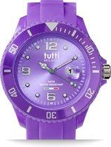 Tutti Milano TM001PU- Horloge -  48 mm - Paars - Collectie Pigmento