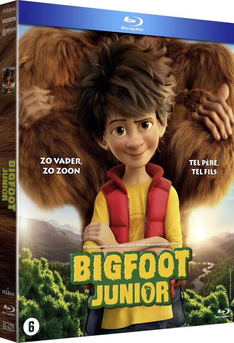 Bigfoot Junior (Blu-ray) - Animation