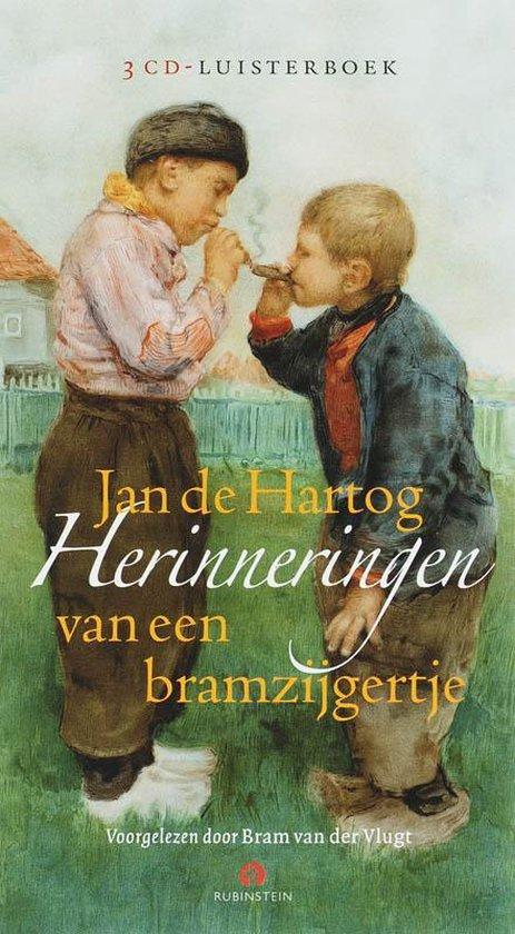 Herinnering aan een bramzijgertje 2 CD's (luisterboek) - J. De Hartog |