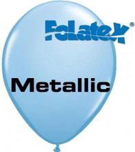 Ballonnen lichtblauw 30 cm 25 stuks