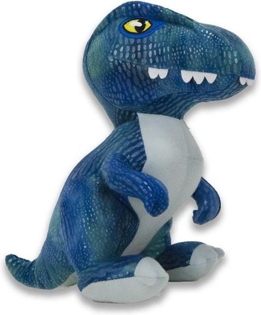 Jurassic World dinosaurus knuffel Blue 21cm - Jurassic World